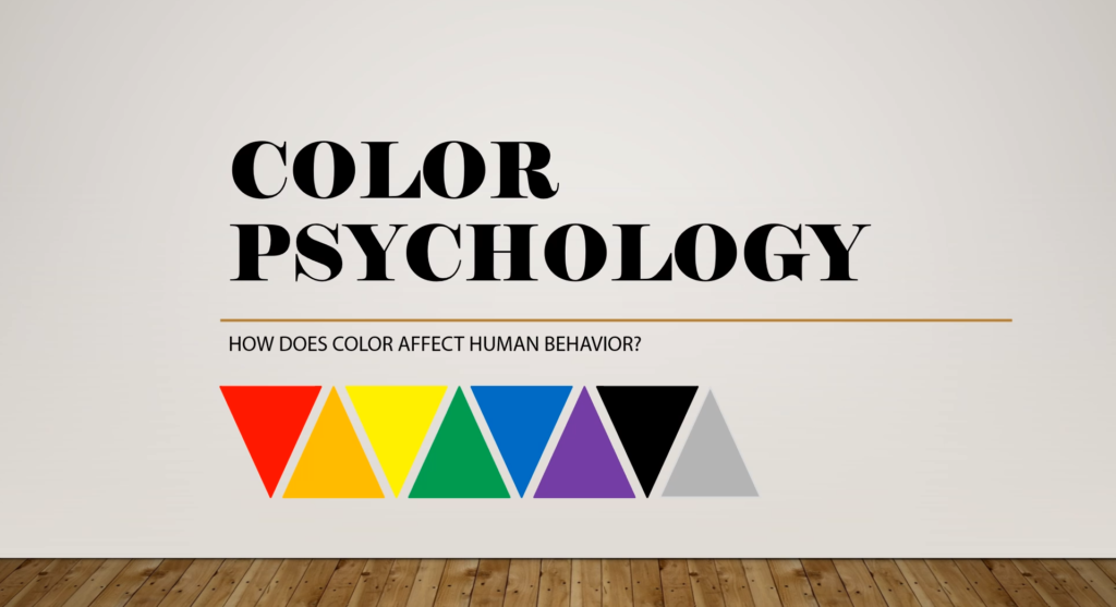 Color Psychology How does color affect human behavior? Rainbow colored pattern