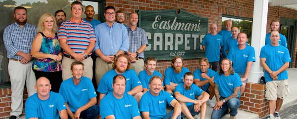 Eastman's Carpet Team